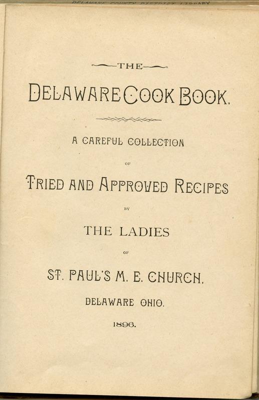 Delaware Cook Book (p. 6)