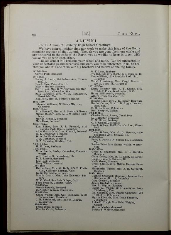 The Owl, Vol. II, 1922 (p.52)