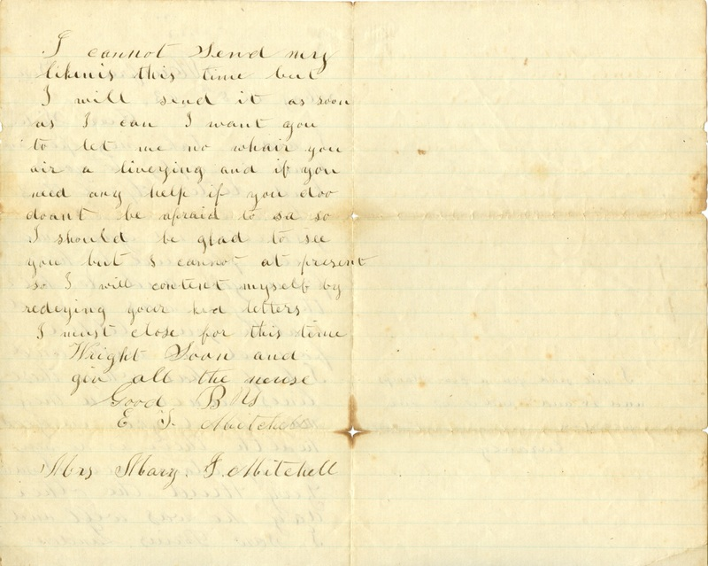 Mitchell Family Civil War Letters (p. 38)
