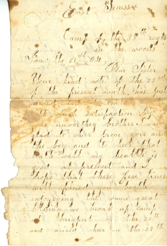 Mitchell Family Civil War Letters (p. 49)