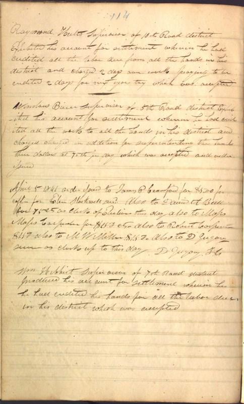 Record Book of Berkshire Township No. 2 1807-1843 (p. 128)