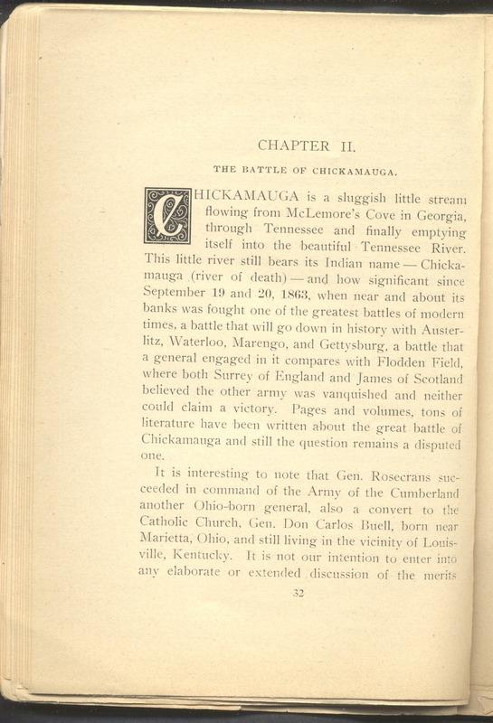 Major-General William Stark Rosecrans (p. 36)