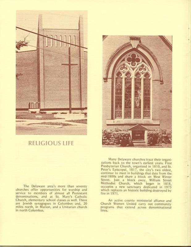 Welcome to Delaware, Ohio (1973) (p. 8)