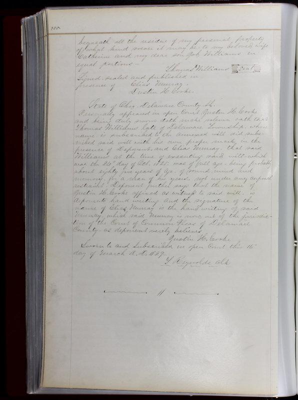 Delaware County Ohio Will Records Vol. 1 1812-1835 (p. 132)