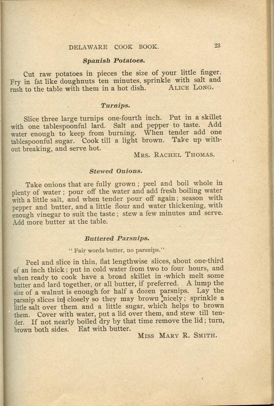 Delaware Cook Book (p. 28)