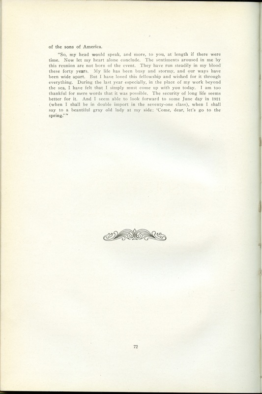 The Souvenir of Forty Years (p. 70)