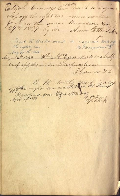 Record Book of Berkshire Township No. 2 1807-1843 (p. 174)