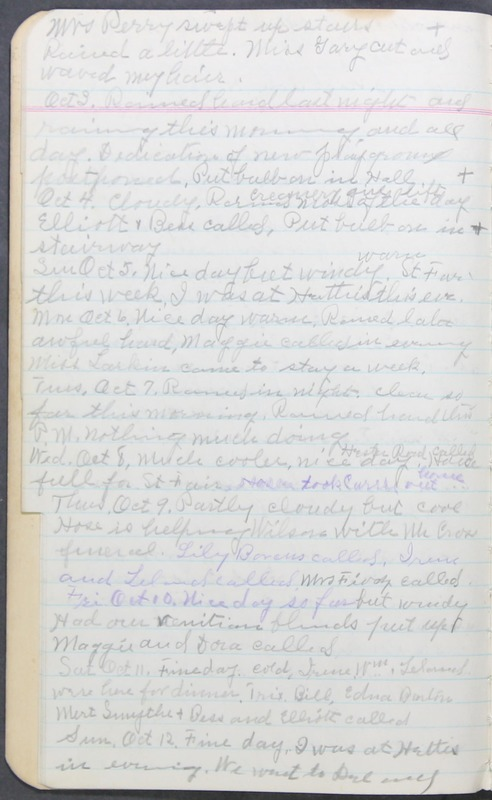 Roberta Hopkins' Journal 1941-1943 (p. 10)