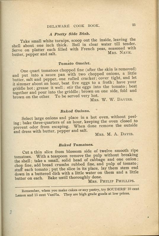 Delaware Cook Book (p. 30)