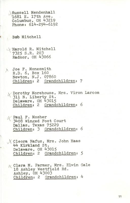 Willis High School Class of 1940 50th Reunion (p. 13)