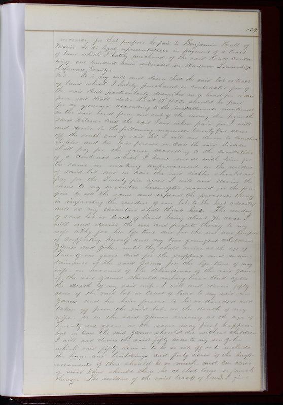 Delaware County Ohio Will Records Vol. 1 1812-1835 (p. 161)