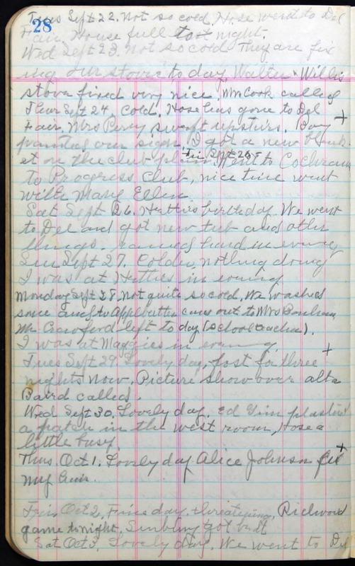 Roberta Hopkins' Journal 1941-1943 (p. 42)