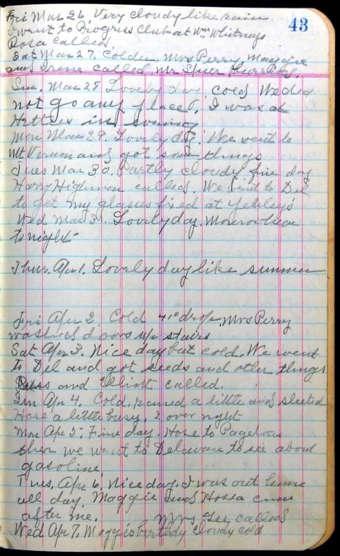 Roberta Hopkins' Journal 1941-1943 (p. 57)