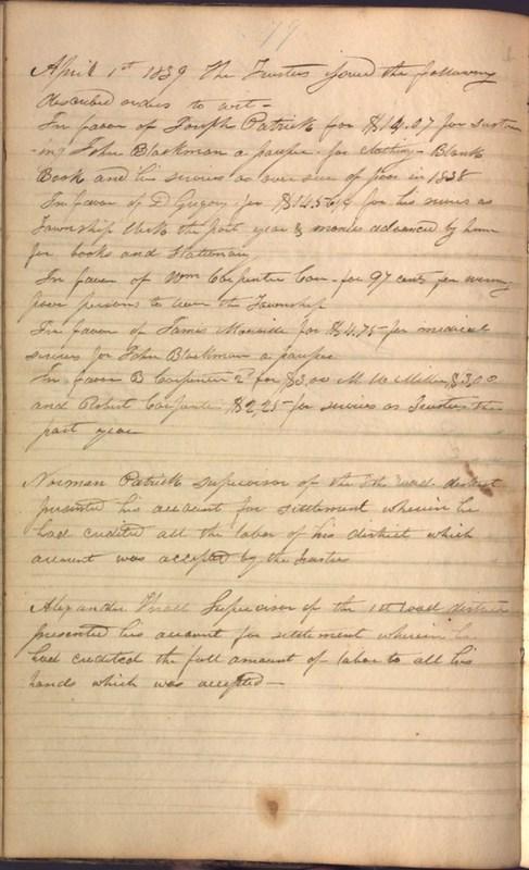 Record Book of Berkshire Township No. 2 1807-1843 (p. 92)