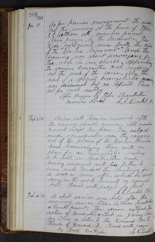 Sessional Records of the 1st Presbyterian Church of Trenton Delaware County Ohio 1873-1937 (p. 190)