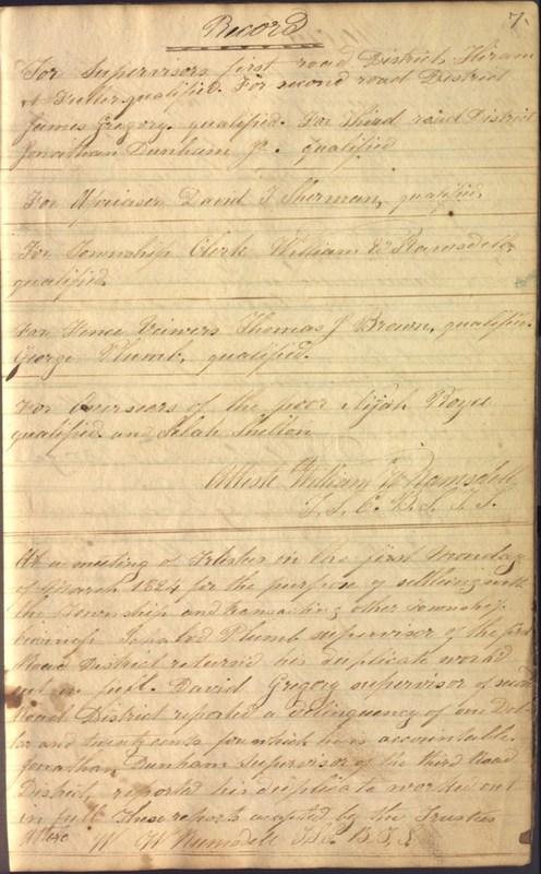 Record Book of Berkshire Township No. 2 1807-1843 (p. 13)