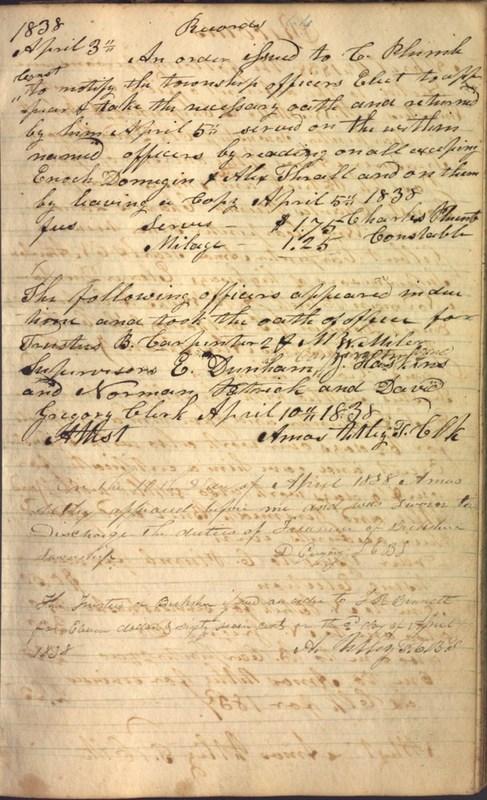 Record Book of Berkshire Township No. 2 1807-1843 (p. 77)