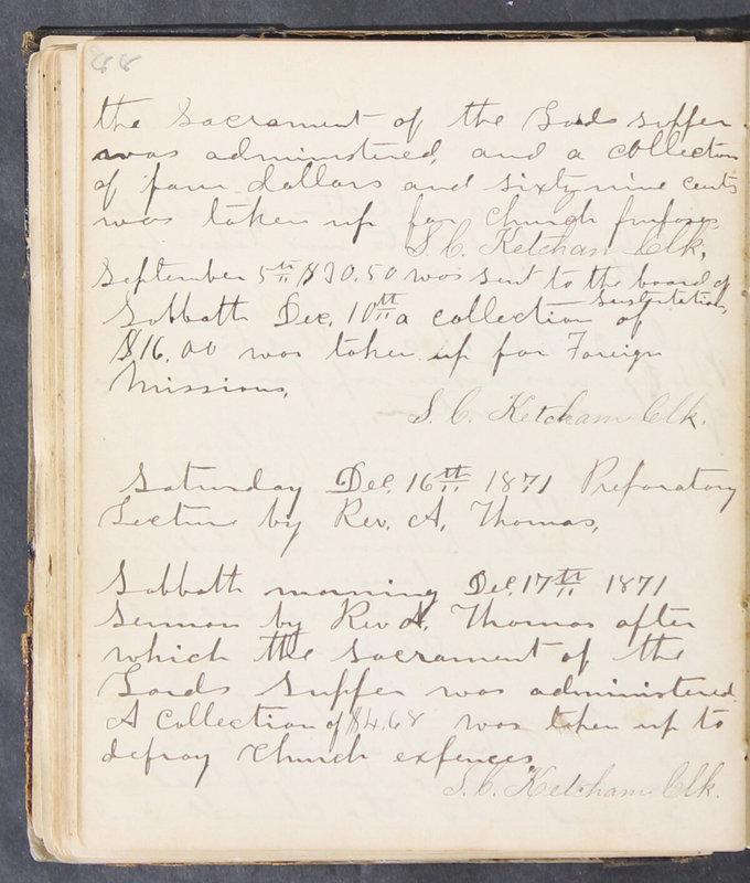Sessional Records of the 1st Presbyterian Church of Trenton, Delaware Co., Ohio, 1831 (p. 94)
