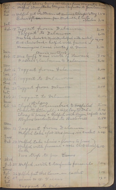 Hopkins House Day Book 1920-1925 (p.108)