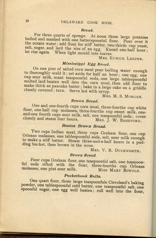 Delaware Cook Book (p. 33)