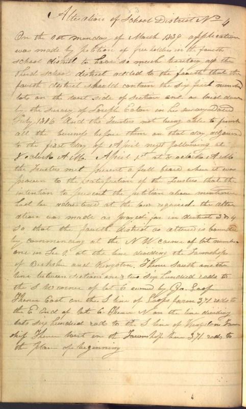Record Book of Berkshire Township No. 2 1807-1843 (p. 96)