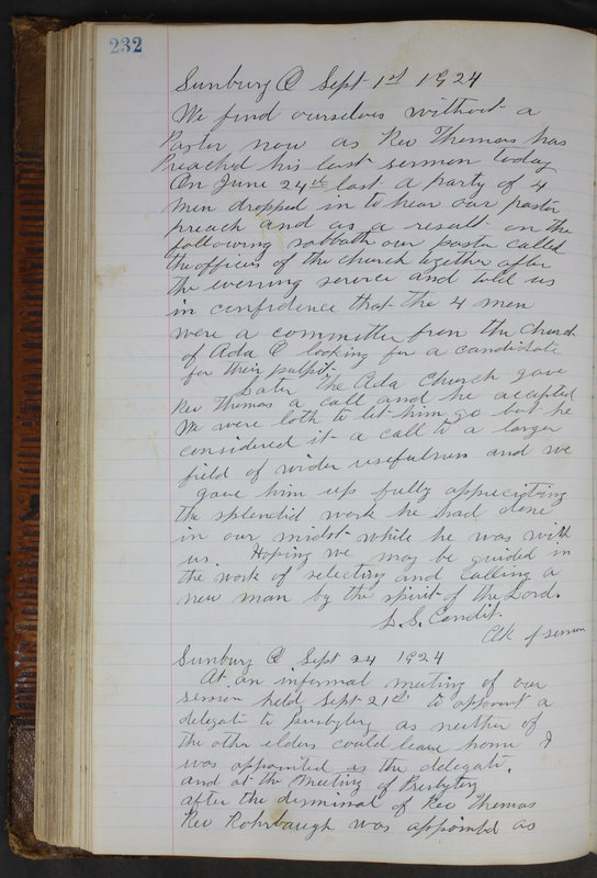 Sessional Records of the 1st Presbyterian Church of Trenton Delaware County Ohio 1873-1937 (p. 220)