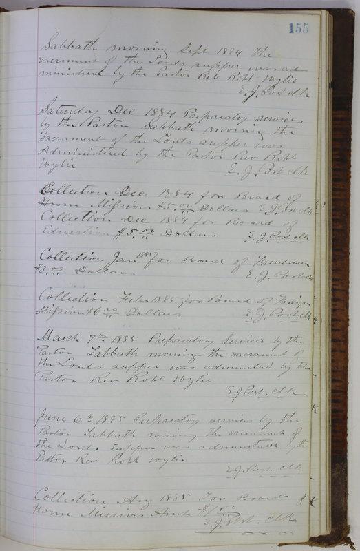 Sessional Records of the 1st Presbyterian Church of Trenton Delaware County Ohio 1873-1937 (p. 145)