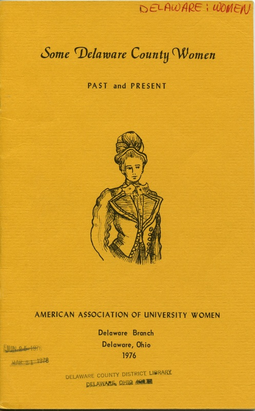 Some Delaware County Women Past and Present (p. 1)