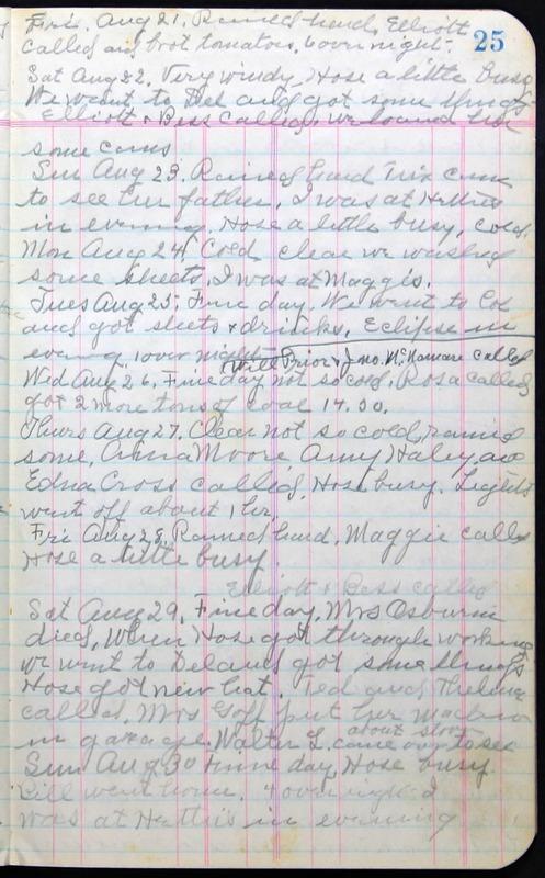 Roberta Hopkins' Journal 1941-1943 (p. 39)