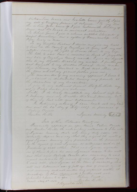 Delaware County Ohio Will Records Vol. 1 1812-1835 (p. 147)