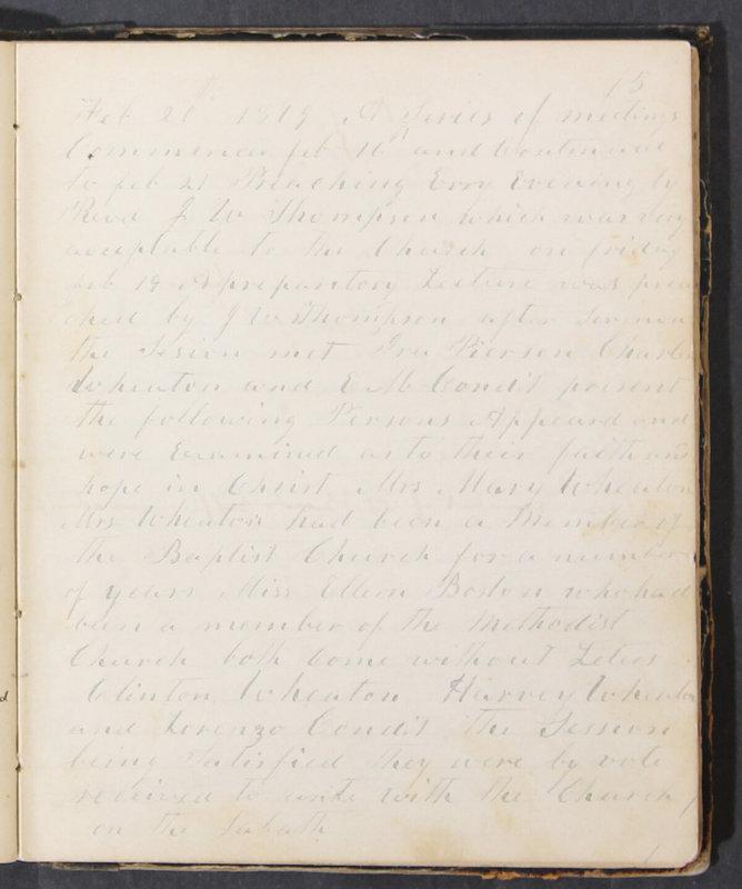 Sessional Records of the 1st Presbyterian Church of Trenton, Delaware Co., Ohio, 1831 (p. 81)