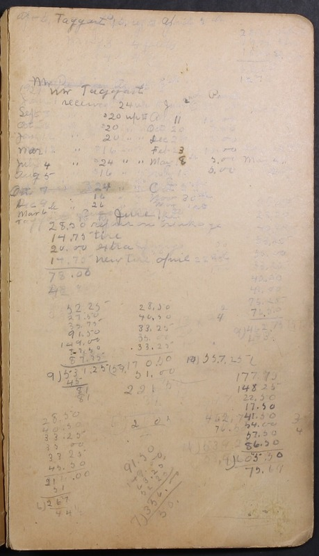 Hopkins House Day Book 1920-1925 (p.198)