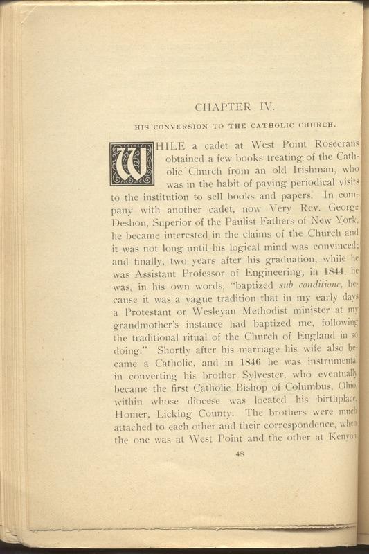 Major-General William Stark Rosecrans (p. 52)