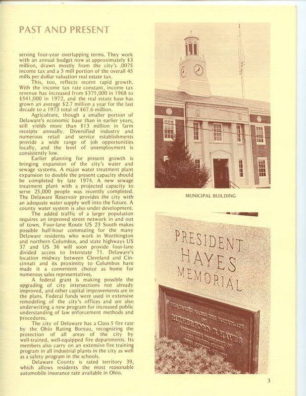 Welcome to Delaware, Ohio (1973) (p. 5)