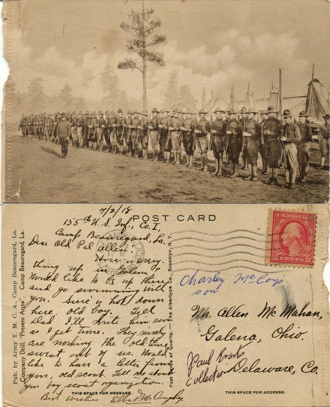 John Bricker Sr.'s Postcard Collection (p. 137)