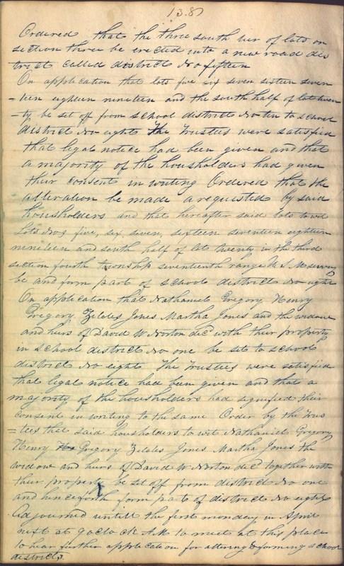 Record Book of Berkshire Township No. 2 1807-1843 (p. 152)