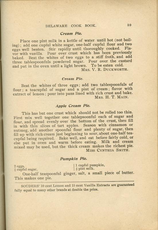 Delaware Cook Book (p. 64)