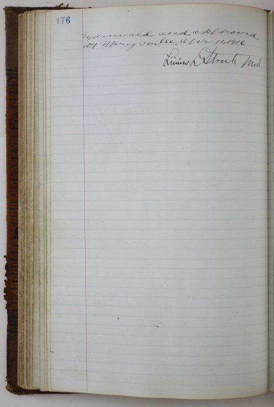 Sessional Records of the 1st Presbyterian Church of Trenton Delaware County Ohio 1873-1937 (p. 166)
