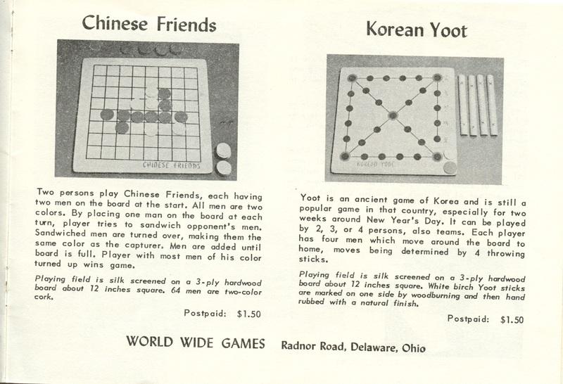 World Wide Games (p. 11)