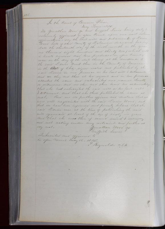 Delaware County Ohio Will Records Vol. 1 1812-1835 (p. 158)