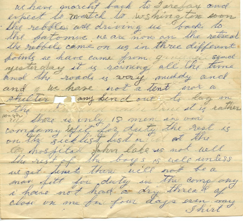 Mitchell Family Civil War Letters (p. 24)