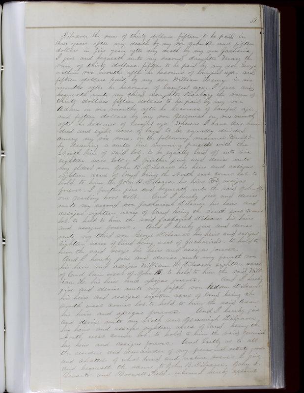 Delaware County Ohio Will Records Vol. 1 1812-1835 (p. 63)