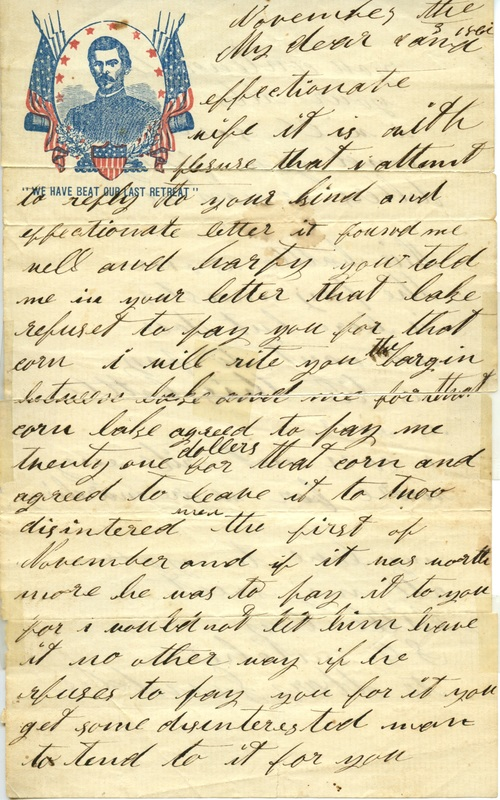 Mitchell Family Civil War Letters (p. 16)