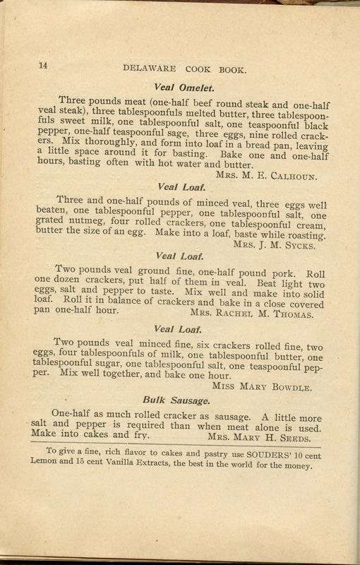 Delaware Cook Book (p. 19)