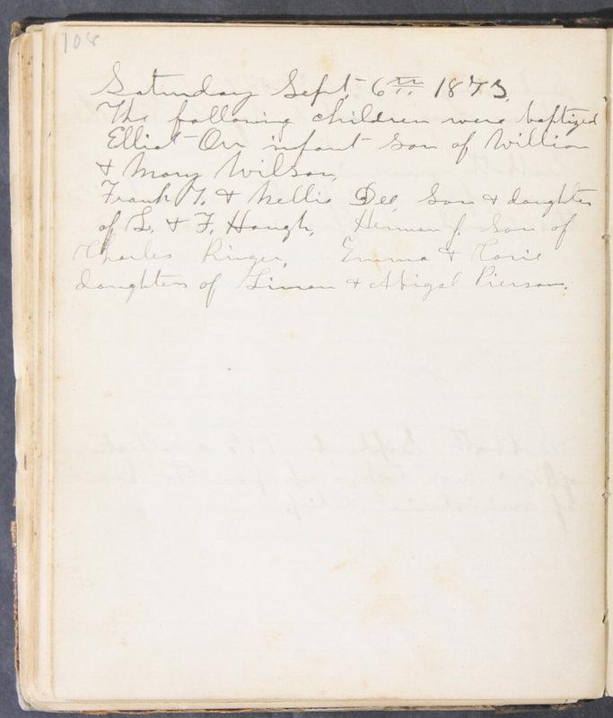 Sessional Records of the 1st Presbyterian Church of Trenton, Delaware Co., Ohio, 1831 (p. 114)