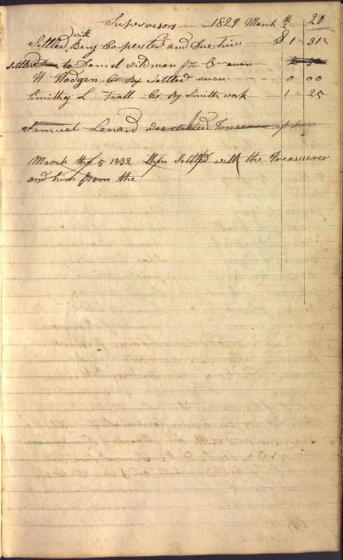 Record Book of Berkshire Township No. 2 1807-1843 (p. 33)
