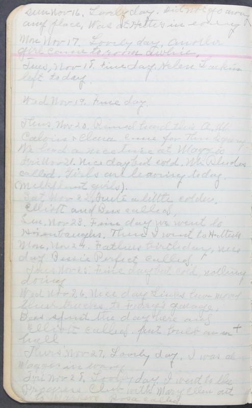 Roberta Hopkins' Journal 1941-1943 (p. 14)