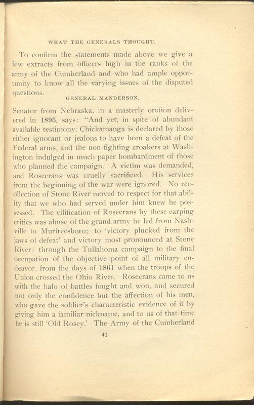 Major-General William Stark Rosecrans (p. 45)