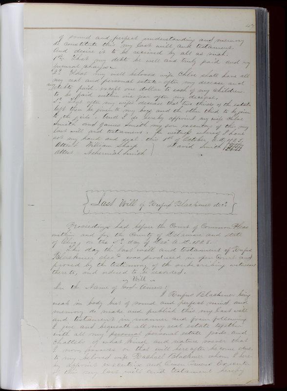 Delaware County Ohio Will Records Vol. 1 1812-1835 (p. 79)