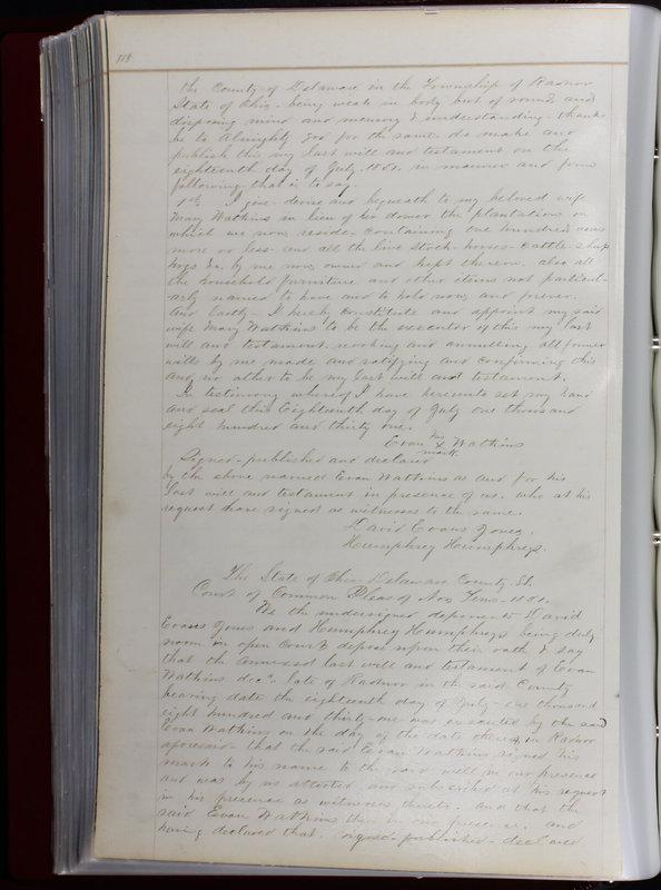Delaware County Ohio Will Records Vol. 1 1812-1835 (p. 150)